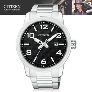 【CITIZEN 星辰】簡約造型石英指針男錶(BI1020-57E)
