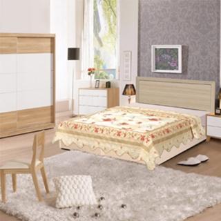 【時尚屋】Terry5尺床片型後封邊雙人床(可選色WG-5set2只含床頭片-床底-不含床墊)