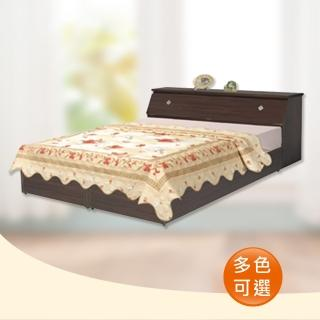 【時尚屋】Terry5尺床箱型後封邊雙人床(可選色WG-5setb2只含床頭箱-床底-不含床墊)