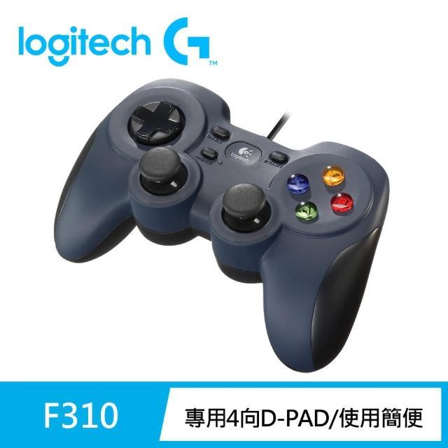 【Logitech 羅技】F310 遊戲控制器
