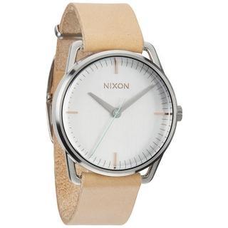 【NIXON】The MELLOR 純粹元素休閒都會腕錶-卡其(A1291603)