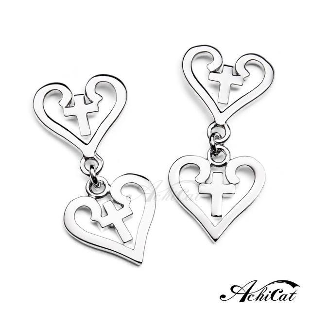 【STEVEN YANG】正白K飾「聖心女孩」耳針式耳環 KG542