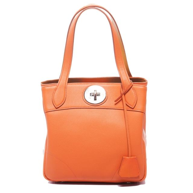 【A.D.M.J.】小牛皮BOX CALF VERA - TOTE-22(ORANGE)