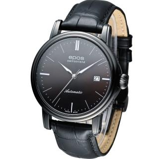 【Epos】愛寶時 Emotion 英倫都會紳士機械錶(3390.152.25.17.25FB)