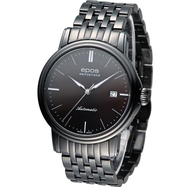 【Epos】愛寶時  Emotion 英倫都會紳士機械錶(3390.152.25.17.35)