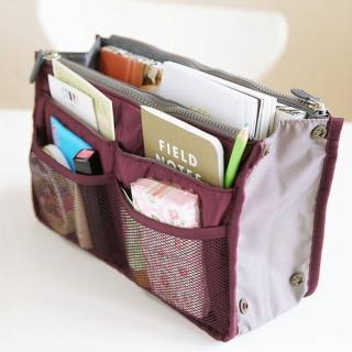 【iSPurple】空氣感包*舖棉包中袋/紫紅