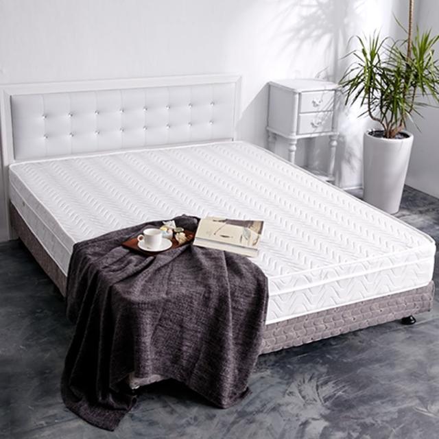 【亞珈珞】透氣升級款-3D緹花三線獨立筒床墊(雙人5尺)/