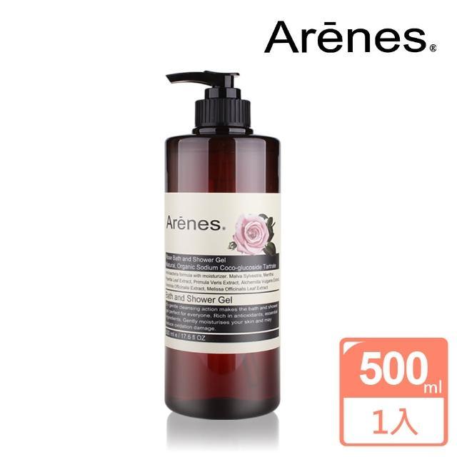 【Arenes】玫瑰香氛植萃沐浴露(500ml)
