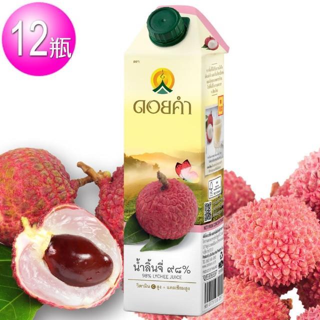 【皇家農場】鮮果汁-荔枝汁(1000mlx12瓶/箱)