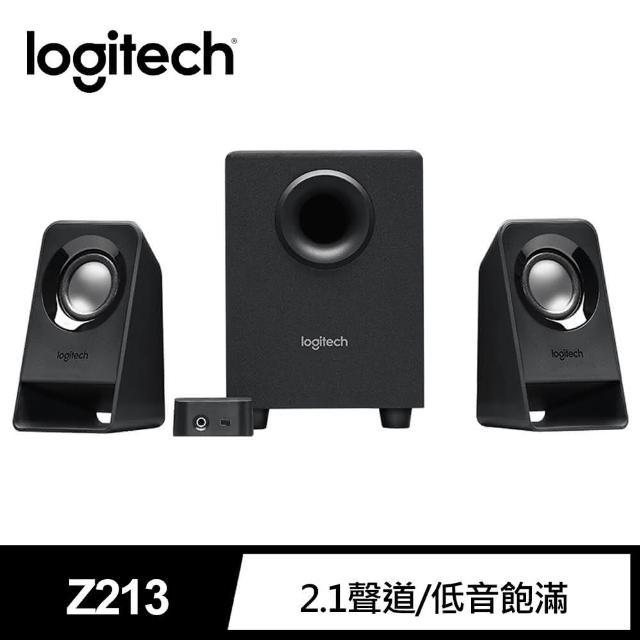 【Logitech 羅技】Z213 Multimedia Speakers 喇叭