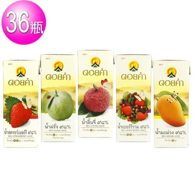 【皇家農場】鮮果汁 200ml(36入/組 口味可任選)