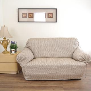 【格藍傢飾】格妮絲撥水防油二人沙發便利套(90X90X170CM)
