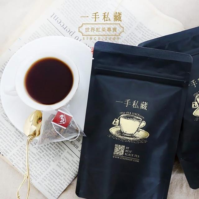 【一手茶館】英式格雷伯爵紅茶─三角立體茶包(10入/袋)