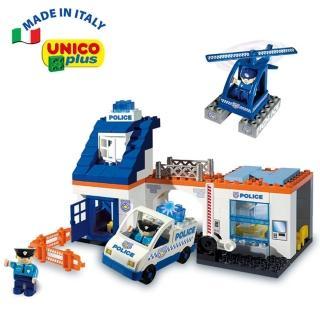 【義大利Unico】緊急救援豪華組(歡樂玩具節)