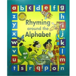 【麥克書店】RHYMING AROUND THE ALPHABET /大書+CD