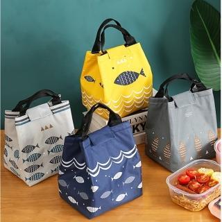 【trees馬卡龍】日式棉麻布束口式x2入組/便當袋/保溫保冷袋(隨機出貨)