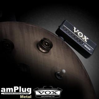 【VOX】amPlug 隨身前級破音效果器(Metal)