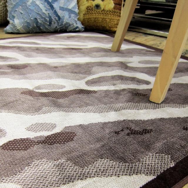 【范登伯格】夏蔓柔光絲質感地毯-溪流(160x230cm)