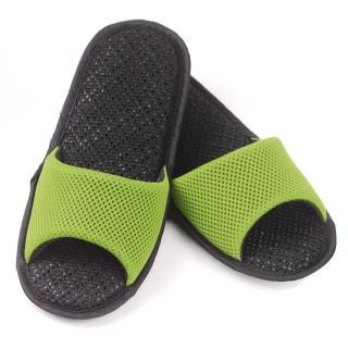 【AC Rabbit】開口型低均壓氣墊拖鞋馬卡龍色系(嫩芽綠)