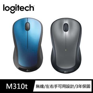 【Logitech 羅技】無線滑鼠 M310t