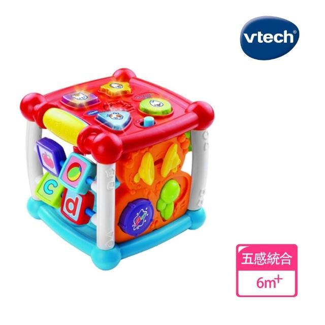 【Vtech】聲光互動學習盒(快樂兒童首選玩具)