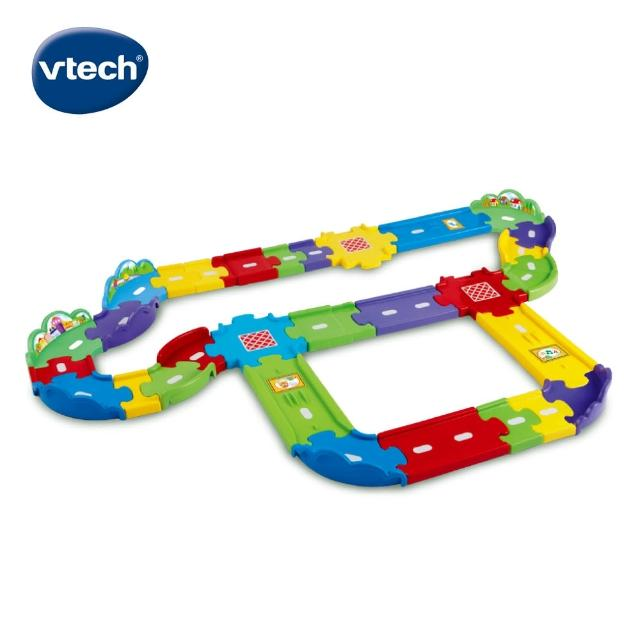 【Vtech】嘟嘟車系列 豪華軌道組(快樂兒童首選玩具)