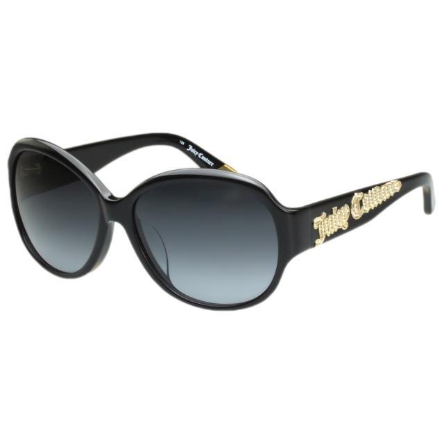 【Juicy Couture】-時尚太陽眼鏡(黑色)