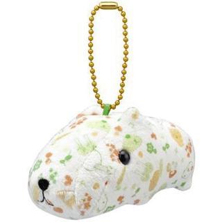 【kapibarasa】水豚君北歐系列公仔吊飾(綠色)