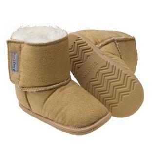 【美國 Rileyroos】手工真皮無毒學步鞋/嬰兒鞋/寶寶鞋/童鞋_卡特鞋 大地色(室外鞋)