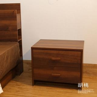 【久澤木柞】日式收納二抽床邊櫃
