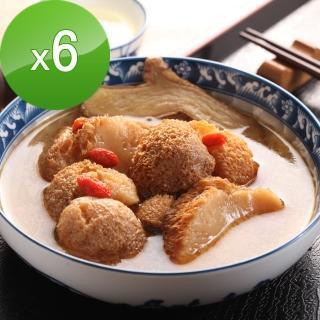 【快樂大廚】麻油猴頭菇/杏鮑菇6包組(300g)