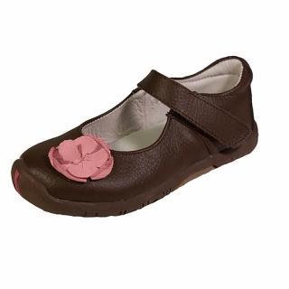 【美國 Rileyroos】手工真皮無毒學步鞋/童鞋/寶寶鞋/嬰兒鞋 費歐納優雅咖啡童鞋(童鞋)