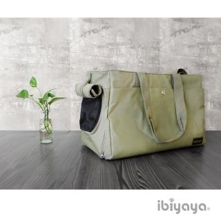 【IBIYAYA依比呀呀】簡約手做寵物帆布包-草綠(FC1428)