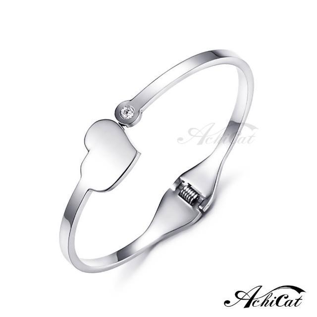 【STEVEN YANG】西德鋼飾「美麗世界」鋼手環 KB4038(銀色)
