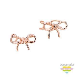 【彩糖鑽工坊】桃樂絲 Doris系列 玫瑰金耳環(925純銀鍍玫瑰金 HAG-ES01)