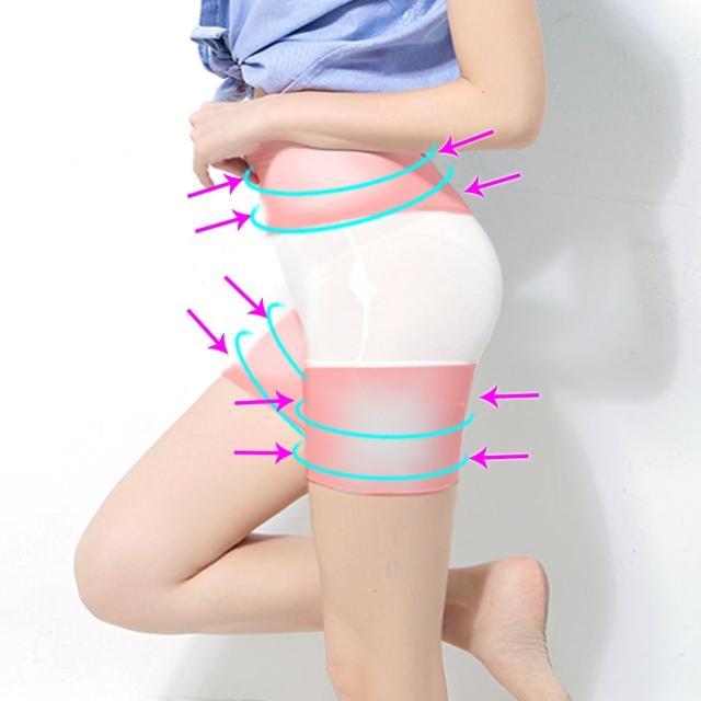【Threeshape】180丹竹碳纖維機能塑褲(白)