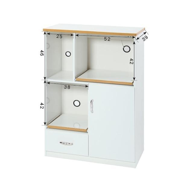 【顛覆設計】潮濕剋星-2.8尺防水餐櫃/電器櫃