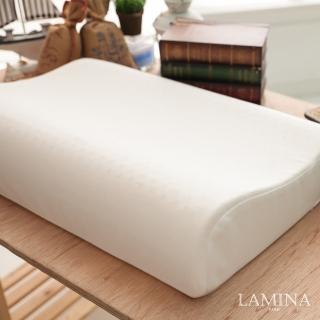 【LAMINA】舒適人體工學乳膠枕-1入