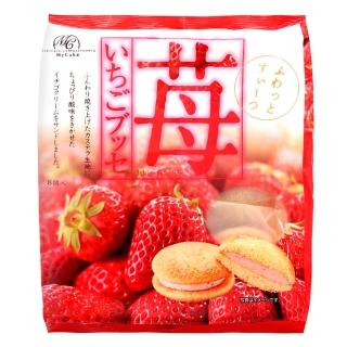 【柿原製果】半生草莓夾心蛋糕(8個)