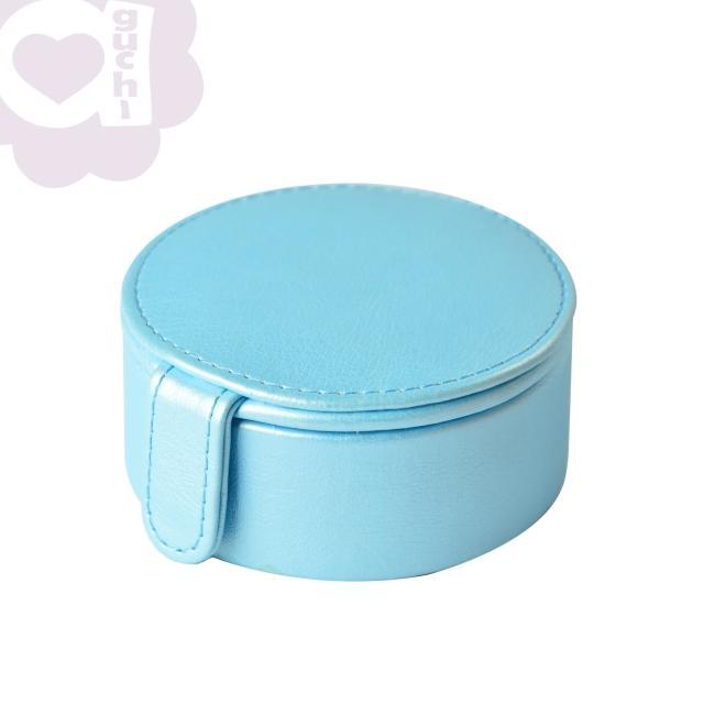 【亞古奇 Aguchi】法式馬卡龍-晴空藍(玩美精靈系列珠寶盒)