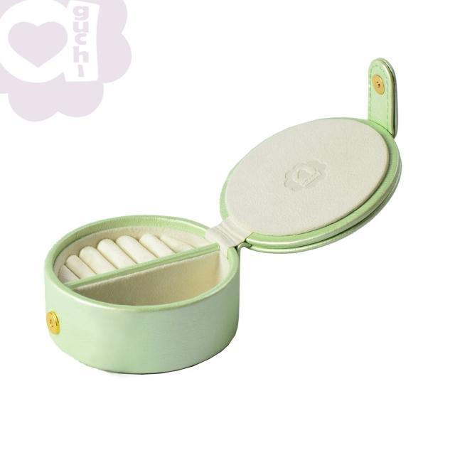 【亞古奇 Aguchi】法式馬卡龍-蘋果綠(玩美精靈系列珠寶盒)