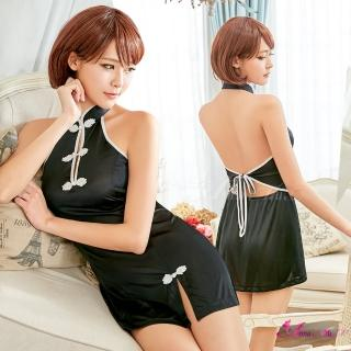 【Anna Mu】媚惑春光!柔緞美背旗袍角色扮演服