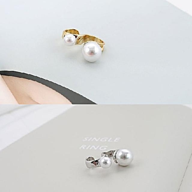 【梨花HaNA】韓國簡約輕時尚無限符號戒指
