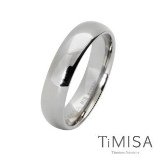 【TiMISA】簡單生活 純鈦戒指(原色)