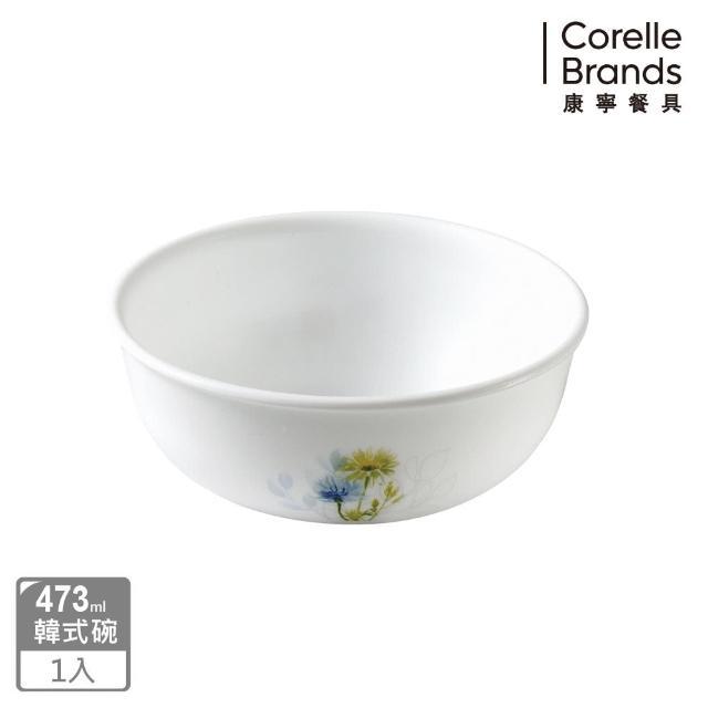 【美國康寧 CORELLE】花漾彩繪韓式湯碗473ml(416)