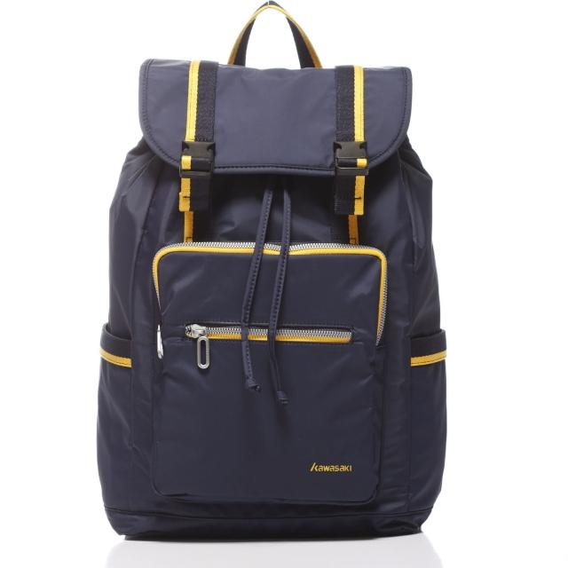 【KAWASAKI】休閒平板電腦背包(藍)