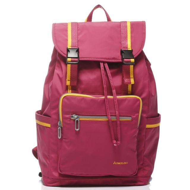 【KAWASAKI】請輸入品名休閒平板電腦背包(桃_大)