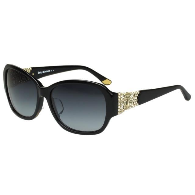 【Juicy Couture】-水鑽 太陽眼鏡(黑色)