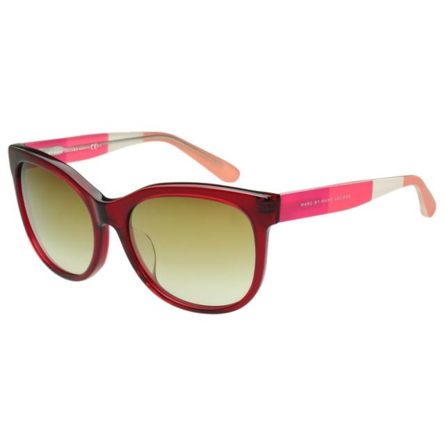 【MARC BY MARC JACOBS】-太陽眼鏡(透明紅色)