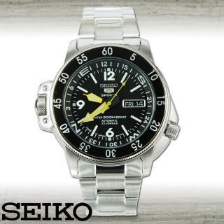 【SEIKO 精工】雙龍頭潛水機械腕錶-地圖冊系列(SKZ211J1)